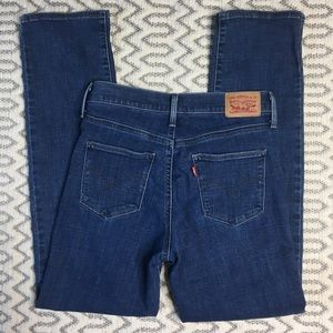 Levi's Sliming Straight Jeans Size 27